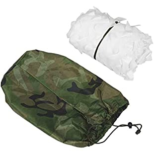 Jullyelegant Camouflage Net Army Military Camo Net Car Covering Tent Hunting Blinds Netting Optional Size Long Cover Conceal Drop Net