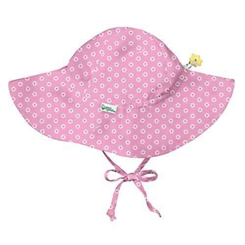 iplay by green sprouts - Sombrero de protección solar - Pink Daisy Geo - 2-4 años
