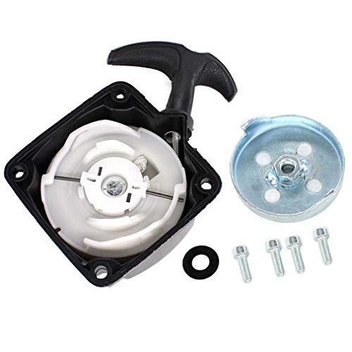 AISEN Seilzugstarter Starter & Mitnehmerplatte für vidaXL 141550 141003 / Plantiflex MT-5200-PF Motorsense