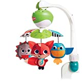 Tiny Love Take-Along Mobile, Baby Mobile and Stroller Activity Toy with Music, Suitable from Birth, 0+ Months, 5 Melodies, Meadow Days