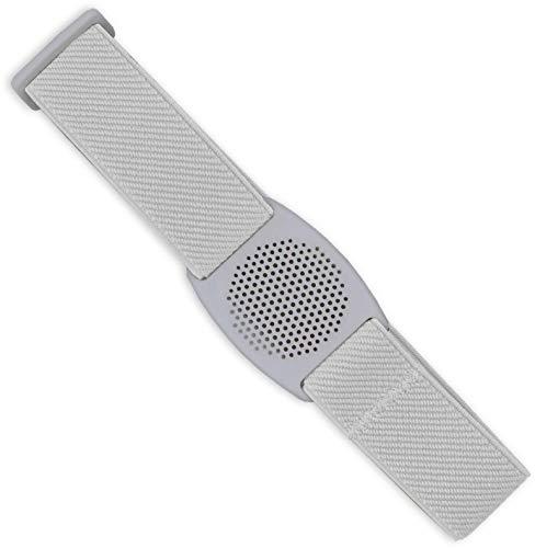 Diasticker® | Freestyle Libre - Fascia da braccio per sensore/Protezione sensori | Flessibile | Fascia protettiva per sensori Freestyle Libre | Griglia: Bianca (Medium: 25-35 cm, Bianca)