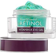 Retinol Vitamin A Eye Gel – Anti-Wrinkle Treatment Minimizes Signs of Aging, Puffiness & Dark Circles Around Eyes – Extra ...