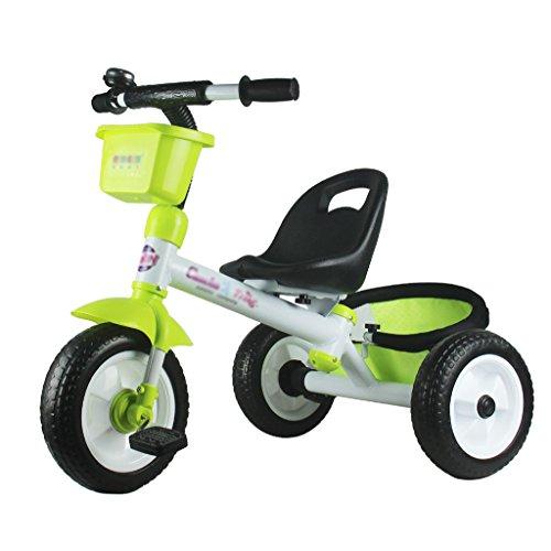 &Kinderwagen Baby Trike, Kinder-Dreirad Roll 'n Rider Trike Fahrt auf (Farbe : Gelb)