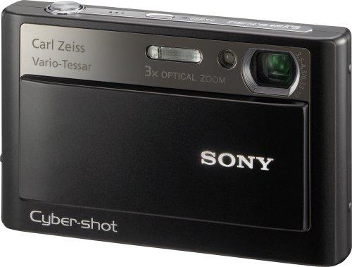 Sony Cybershot DSC-T20 8MP Digital Camera with 3x Optical Zoom and Super Steady Shot (Black)