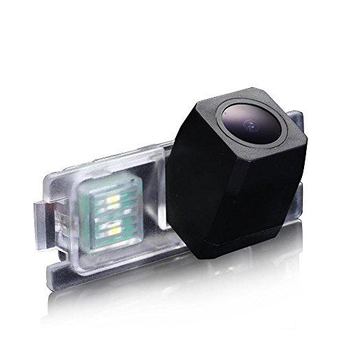 Dynavsal HD CCD Caméra de Recul Voiture en Couleur Kit Caméra vue arrière de voiture Imperméable IP67 avec large Vision Nocturne pour Volvo S60 S80 V70 S40L S40 V40 V50 S60L V60 XC70 S80L XC90