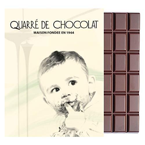 Tablette chocolat noir 55% Quarré de chocolat (Sans sucre)