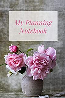 My Planning Notebook: Planner Notebook Checklist To Do Checklist Notes Journal College Rule Lined