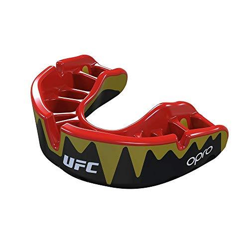 Opro Mundschutz, Platinum, UFC, Fangz, schwarz-Gold
