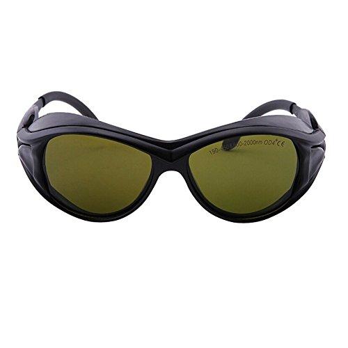 AJSR EP-5-2 IR UV Laser-Occhiali di protezione/sicurezza OD4 ~190-450 & 800-2000nm-Occhiali di protezione