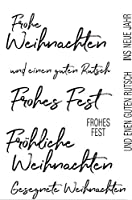 ドイツの透明な透明なシリコーンスタンプ/DIYスクラップブッキング用のシール/アルバム装飾的な透明なスタンプシートA1302