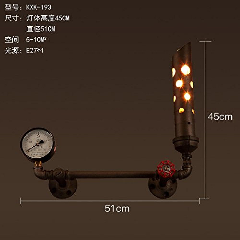 StiefelU LED Wandleuchte nach oben und unten Wandleuchten Antike wall Light Industrial style loft Bügeleisen Wohnzimmer Restaurant Studie Schlafzimmer Bett Wand, KXK-193