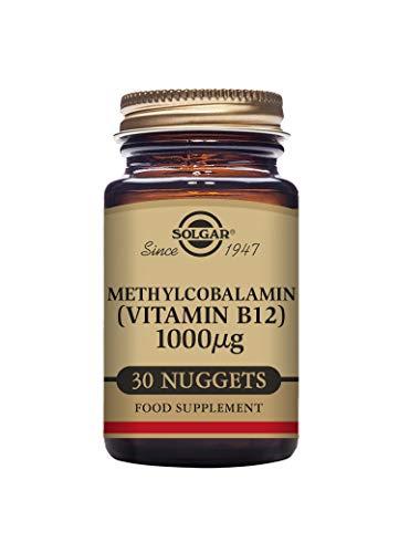 Solgar Methylcobalamin 1000 ŵg (Vitamin B12) Nuggets, 30