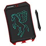 JRD&BS WINL LCD Writing Tablet forBirthday Gift,Kids Toy 8.5 in Writing Board Electronic Writings Pads Drawing Board Gifts for Kids,Office Blackboard-One Key Erase,Teen Girl Boys Sketch Pads(Red D)