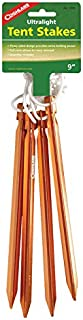 Coghlan's 1000 4-Count 9-Inch Ultralight Tent Stakes (Discontinued by Manufacturer)