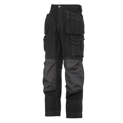 Vloerbedekking Workwear Broek Vloerlaag 54 Zwart