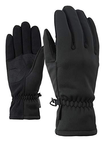 Ziener Damen IMPORTA LADY glove multisport Funktions- / Outdoor-Handschuhe | winddicht, atmungsaktiv, schwarz (black), 7.5