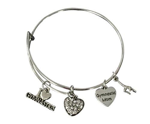 Infinity Collection Gymnastics Mom Bracelet- GymnasticsJewelry for Mom- Gymnastics Jewelry For Gymnast