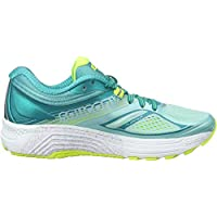 Saucony Guide 10 W, Zapatillas de Running para Mujer, Turquesa (Teal/Citron), 38 EU