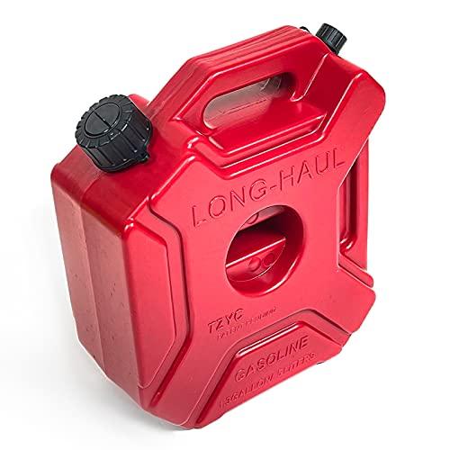 (単品) ウォータータンク 5L レッド ノズル付き 小型 汎用 アウトドア キャンプ 非常用 断水 水用ポリタンク ジェリ缶 携行缶 給水 防災用 災害グッズ