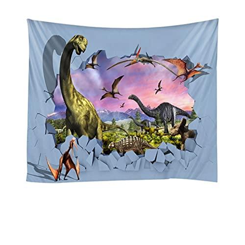Chenhan Tapiz Tapiz de Pared Barato Hermoso Dinosaurio Unicornio impresión Grande Hippie Pared Colgando de la Pared Bohemia tapicería Mandala Pared Arte Decora Decoración de Arte