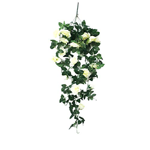 Floweworld Wohnaccessoires & Dekoration Kunstblumen Simulation GefäLschte Blume Rose Vine Wandbehang Blume Orchidee HäNgende Korbblume