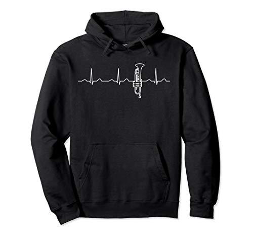 Heartbeat Perinet Trompetenbekleidung, Jazz-Trompeter Pullover Hoodie