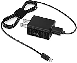 Fire HD 8 USB Charger, Rapid Wall Charger Adapter Compatible Amazon Kindle Fire HD 8 Tablet, with 5FT Long Cord Charging Cable