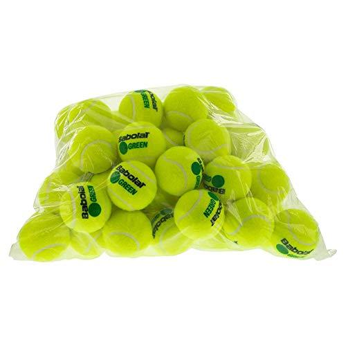Babolat Green (Stage 1) 72er Beutel Nachfüllpack Tennisball, gelb, nosize
