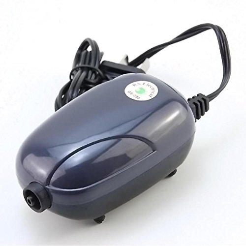 GOTTING Mini bomba de aire silenciosa potente bomba de oxíg