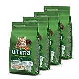 ultima Pienso para Gatos Adultos con Salmón 4 x 1.5 kg