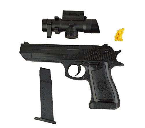 MEDIA WAVE store Pistola Giocattolo 141458 con puntatore 6 mm con Pallini Inclusi 1823-87