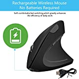 Zoom IMG-1 mouse verticale ergonomico wireless usb