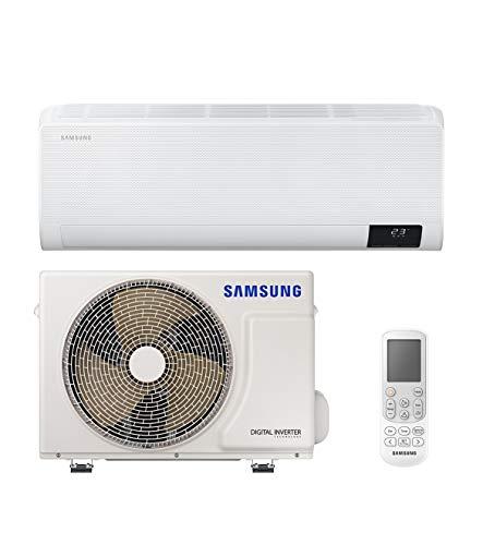 Samsung Clima WindFree Comfort Next Monosplit, 12000 BTU, SmartThings und Intelligenz, WiFi, GAS R32, AR12TXFCAWKNEU+AR12TXFCAWKXEU, [Energieeffizienzklasse A++/A+]