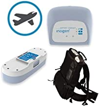 Inogen One G3 Airline Power Bundle - 16 Cell Battery, External Charger, Backpack, and Airline Priority Tag Identifier