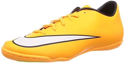 Nike Mercurial Victory V IC, Herren Fußballschuhe, Orange (Laser Orange/White-Black-Volt 800), 46 EU
