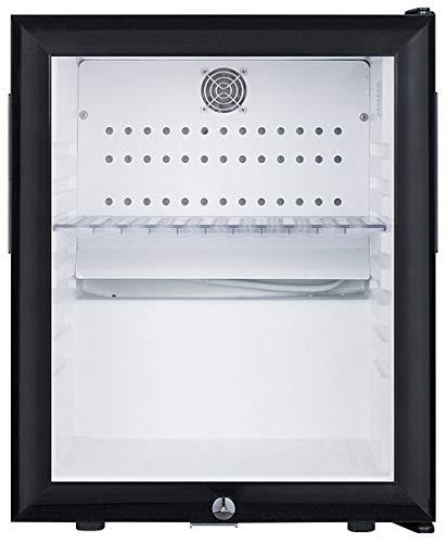 Summit Compact Glass Door Refrigerator