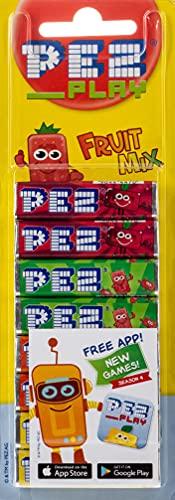 Pez Fruit Mix Stangen, 8 x 8,5 g