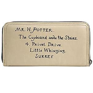 41gmCHhjeNL. SS300  - Cartera de Harry Potter Letter Crema