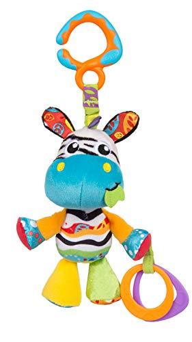 Playgro Peluche para Colgar Zoe la Cebra, Desde el nacimiento, Multicolor, 40184