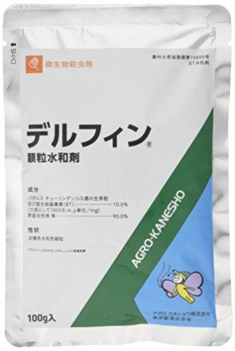 アグロカネショウ BT 殺虫剤 デルフィン顆粒 100g