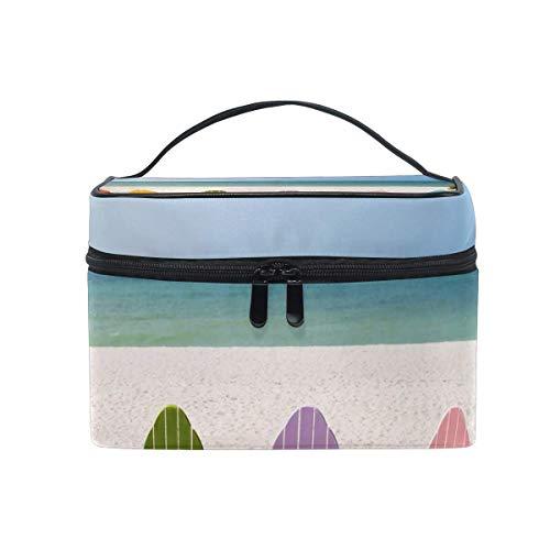 Sac de maquillage Chaise de plage Sac cosmétique Grand sac de toilette portable pour les femmes/filles Voyage