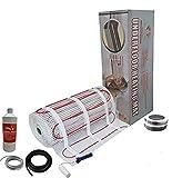 Nassboards Premium Pro - Kit Élite de Calefacción Eléctrica Por Suelo Radiante de 200 W - 3.0m²