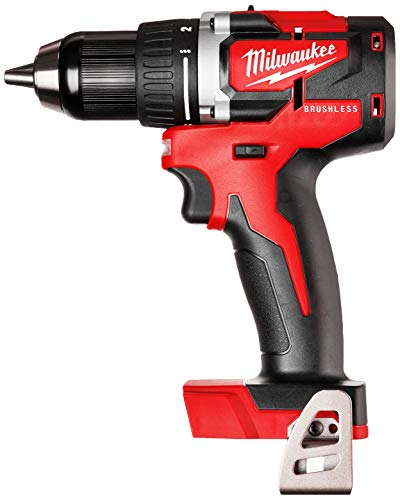 Milwaukee M18 18-Volt Lithium-Ion Brushless Cordless 1/2 Inch Compact Drill/Driver (Tool-Only) 2801-20