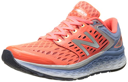 New Balance Women's Fresh Foam 1080v6 Running Shoe, Pink/Grey, 6 B US