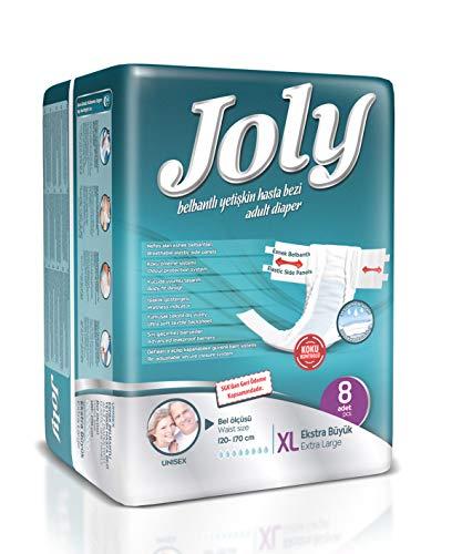 Abelsmann: Joly Inkontinenz Windeln für Frauen & Männer: Größe XL - 8 Stück