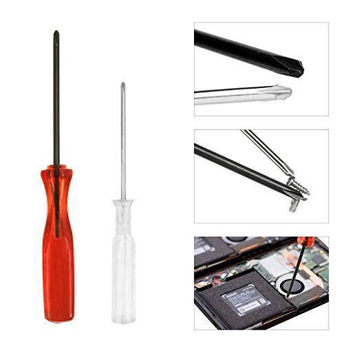 HIGHFINE Triwing 1.5 2.5 3.0 and Phillips PH00 Screwdriver Set Repair for Nintendo Products Wii DS Lite DSi 3DS GBA SP NDS