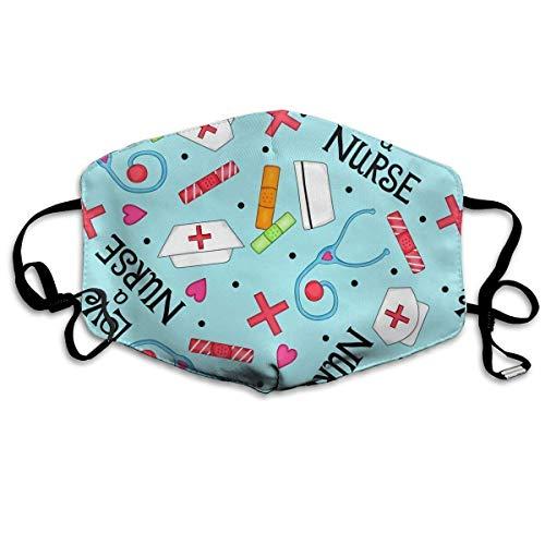 Facial Cover,Liebe Eine Krankenschwester Mundschutz, Leichte Winddichte Abdeckungen Für Das Laufen Radfahren Im Freien,18x11cm