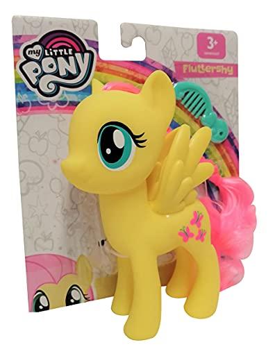 Hasbro My little Pony E6848 Fluttershy Spielfigur mit kämmbaren Haaren mit Kamm 15 cm für Kinder