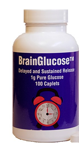 BrainGlucose (as a Food and Medical Food by FDA, Calm Nightmares, Eliminate Night Sweats and hallucinations, Support Strong Memory, Prevent Night Low Blood Sugar, no Side Effects)