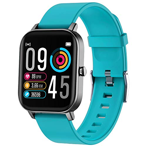 Smart Watch Fitness Tracker Smart Watches for Women Waterproof Activity Tracker with Heart Rate Monitor SmartWatch with Step Counter Fit Watch Sleep Monitor Step Counter for Men and Kids